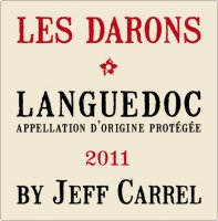 Jeff Carrel - Les Darons  2015 (Languedoc - rouge)