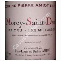 Domaine Amiot Pierre et Fils Morey Saint Denis 1er Cru