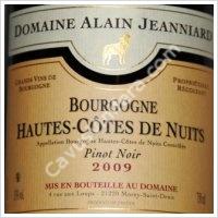 Domaine Alain Jeanniard Hautes Cotes de Nuits