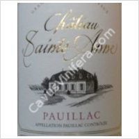 photo Chateau Sainte Anne Pauillac