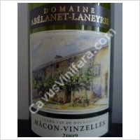 photo Domaine Abelanet Laneyrie Macon Villages Vinzelles
