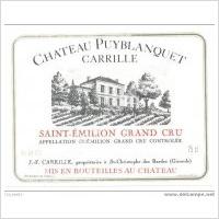 Chateau Puyblanquet Carrille Saint-Emilion