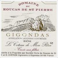 photo Domaine de Roucas St. Pierre Gigondas Le Coteaux de Mon Reve